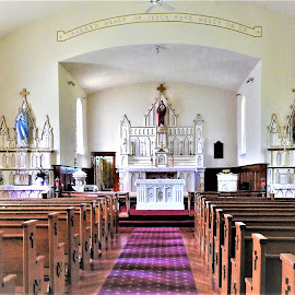 For comfort and healing by Mary Gallo - Buildings & Architecture Places of Worship ( church, heal, worship, building, pray,  )