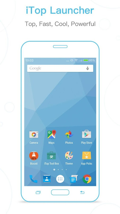 iTop Marshmallow Launcher -6.0 Screenshot 0