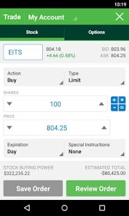 TD Ameritrade Mobile screenshot for Android