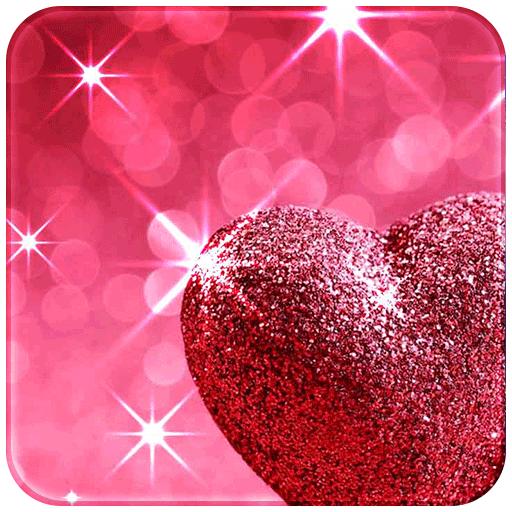 Pink Love Diamond Heart (app)
