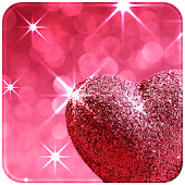 Free Download Pink Love Diamond Heart APK for Samsung