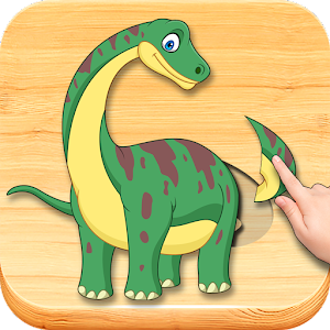 Funny Dinosaurs Kids Puzzles, full game. For PC