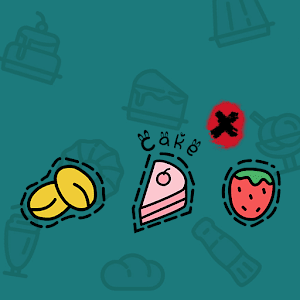 Food Cake Fruit Icons