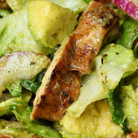1. Honey-Lime Chicken And Avocado Salad
