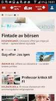 Screenshot of Dagens industri
