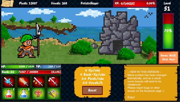 Idle Adventure (Unreleased) APK screenshot thumbnail 8