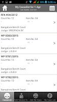 Screenshot of Ideal Causelist for high court