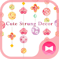 Cute Wallpaper Cute Strung Decor Theme APK