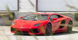 Paint protection on a Lamborghini Aventador - Ottawa