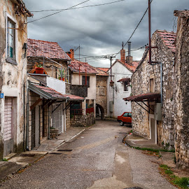 Old town by Maxim Malevich - Buildings & Architecture Homes ( old, buildings, architecture, town, abandoned )