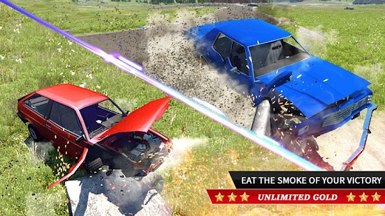 Real Car Crash Engine Simulator