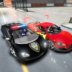 Be the fastest police car driver to chase high speed racers on the streets APK Icon