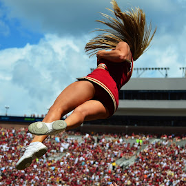 Cheerleader by Justin Alley - Sports & Fitness American and Canadian football