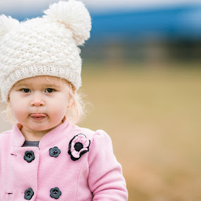 Tongue Out by Andrew Christmann - Babies & Children Children Candids ( child, girl, tongue, cute, hat, kid )
