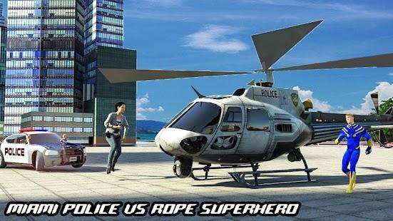 Rope Hero Crime Simulator – Miami Crime City Games for pc