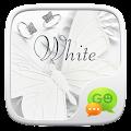 (FREE) GO SMS WHITE THEME