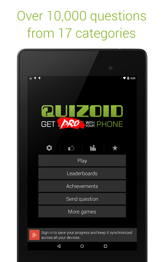 Quizoid Pro: Category Trivia Screenshot 8