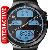 Download Full Chrome LED HD Watch Face  APK