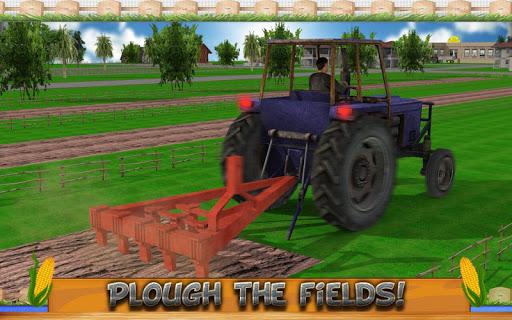 Corn Farming Tractor 2016 - screenshot