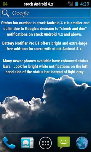 Battery Notifier BT Free screenshot 5