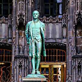 Nathan hale by Jon Radtke - Buildings & Architecture Statues & Monuments ( nathan hale )