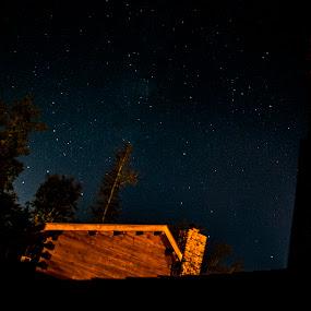 Poconos by Sabastian L - Landscapes Starscapes