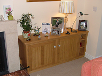 Fireside Cupboards & Shelving in Oak