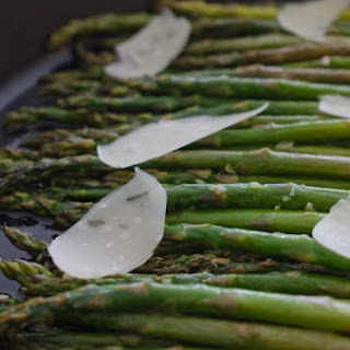 Sautéed Asparagus with Shaved Parmesan