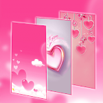 Pink Love Heart Icon