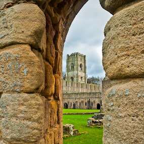 Fountains by Josh Hilton - Buildings & Architecture Public & Historical ( building, fountains, yorkshire, historic, abbey )