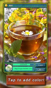 Hidden Layers Tea Time - screenshot