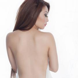 Loneliness by Dan Pham - People Body Art/Tattoos ( wrap, girl, long hair, bare back )