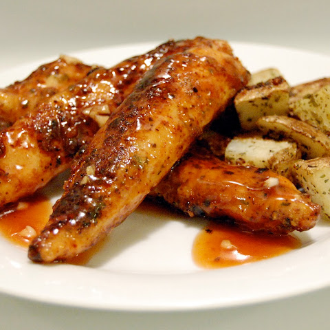 Honey Barbecue Glazed Chicken