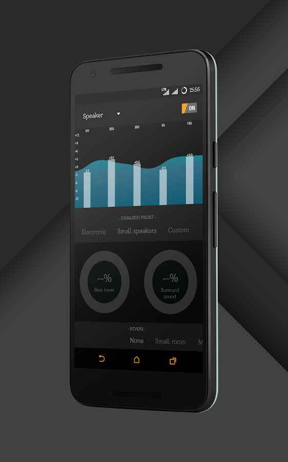 Sense Black/Orange cm13 theme Screenshot 18