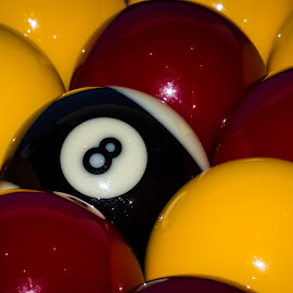 8-Ball by Steve Bennett - Sports & Fitness Cue sports ( ball, 8-ball, pool, rack, 8, eight )