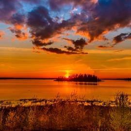 Beautiful Sunset by Joseph Law - Landscapes Sunsets & Sunrises