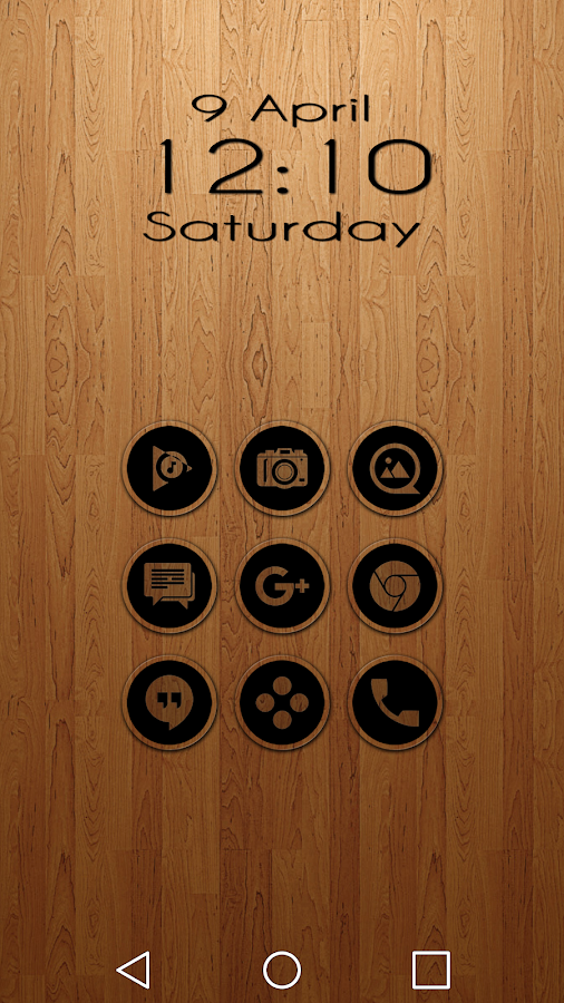 Miller Black - Icon Pack Screenshot