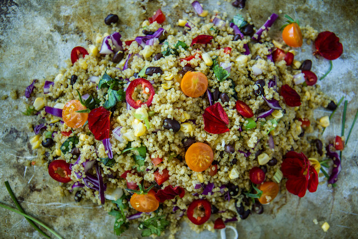 Southwestern Quinoa Salad Recept | Yummly
