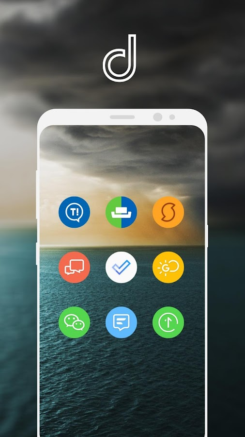 Delux UX Pixel - S8 Icon pack Screenshot 5