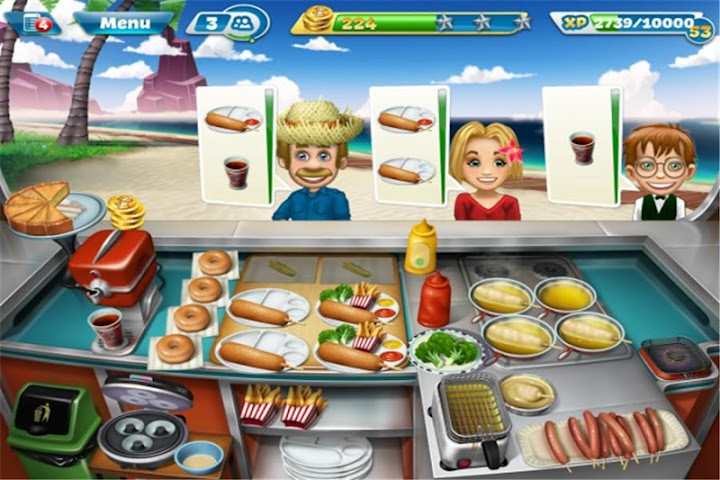 android RP Guide for Cooking Fever Screenshot 1