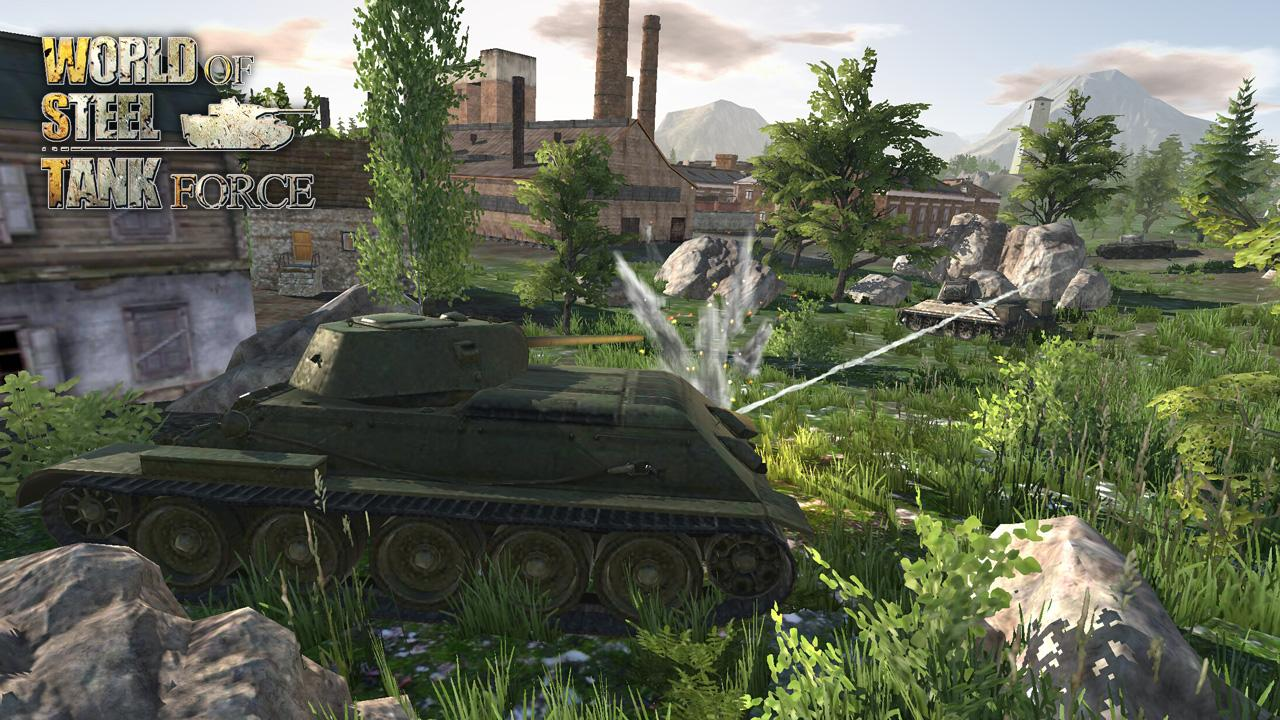 World Of Steel : Tank Force Screenshot 1