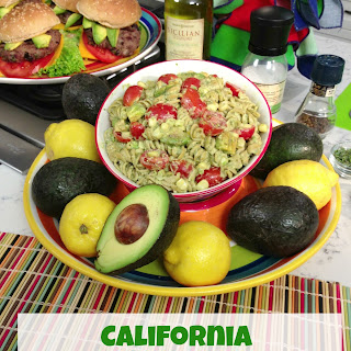California Avocado Macaroni Summer Salad