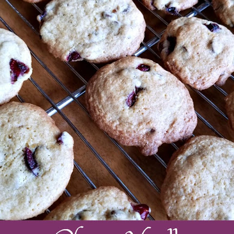 Cherry Vanilla Chip Cookies Recipe - Baking for the Firemen