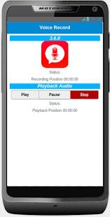 Simple Voice Record - screenshot
