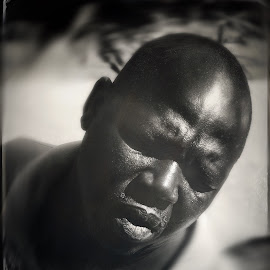 Sad Man by Karin Wollina - People Portraits of Men ( african, sad, beauty, africa, man,  )