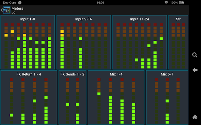 android Mixing Station Qu Pro Screenshot 9