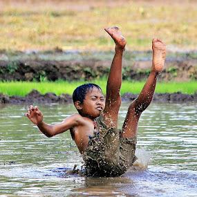 by Kuswarjono Kamal - Babies & Children Children Candids