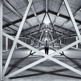 The Hangar by Geoff Soper - Buildings & Architecture Other Interior ( pwclines )
