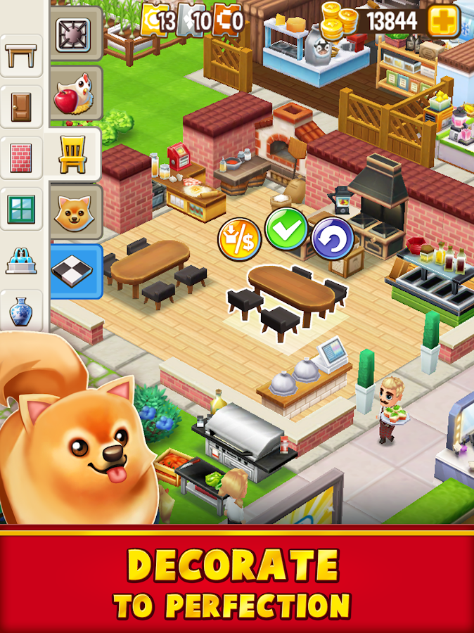Food Street - Restaurant Management & Cooking Game Screenshot 2