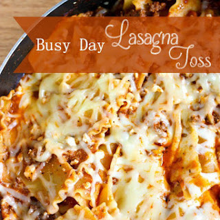 Busy Day Lasagna Toss